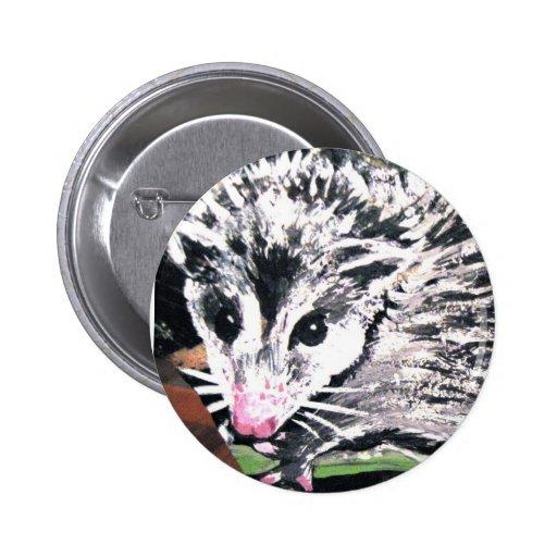 Opossum Button