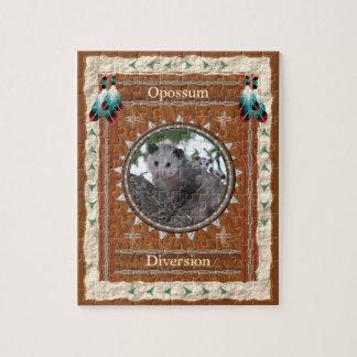 Opossum  -Diversion- Jigsaw Puzzle w/ Box