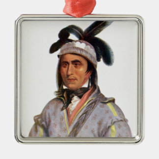 Opothle-Yoholo, a Creek Chief Christmas Ornament