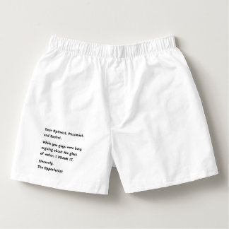 Opportunist Boxers