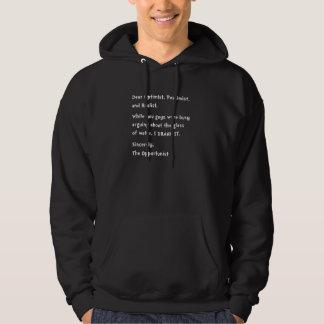 Opportunist Hooded Sweatshirts