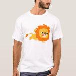 Opportunistic Cartoon Lion children T-shirt
