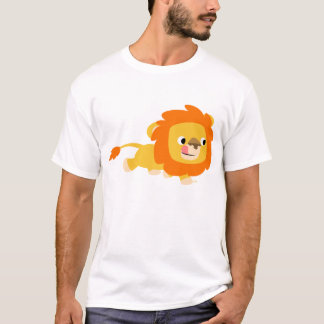 Opportunistic Cartoon Lion children T-shirt