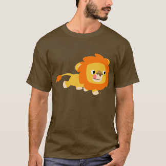 Opportunistic Cartoon Lion T-shirt
