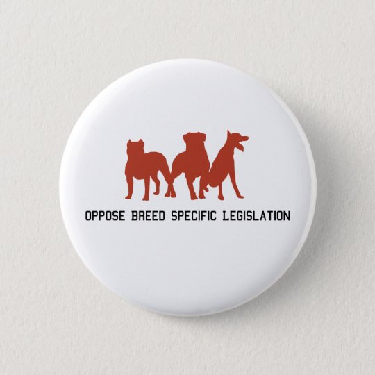 Oppose BSL Button. 6 Cm Round Badge