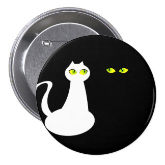 Opposite Attract, Love Cats, Round Badge
