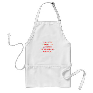 opposites attract aprons