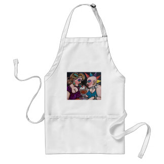 opposites attract apron