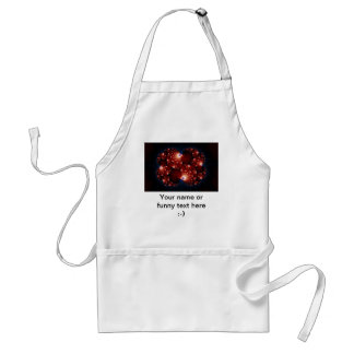 Opposites Attract - Fractal Art Adult Apron