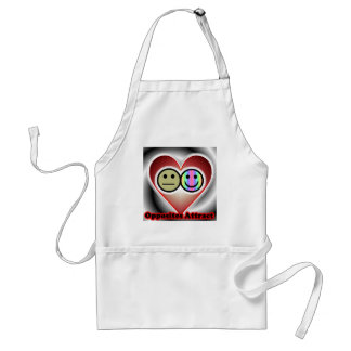 Opposites Attract Standard Apron
