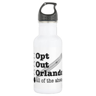Opt Out Orlando - water bottle 532 Ml Water Bottle