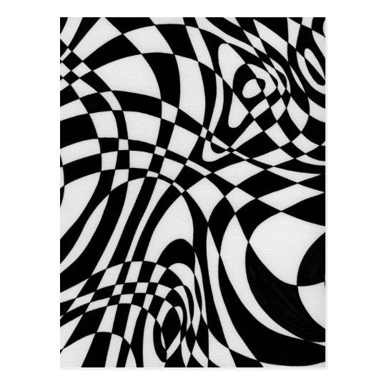 Optic #1 by Michael Moffa c1991 Postcard
