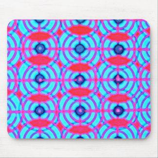 Optical Art Circle Mousepad