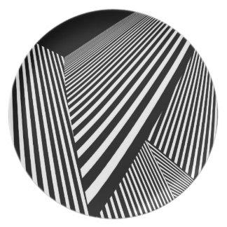 Optical Art Studio Plate