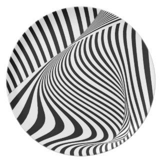 Optical Art Studio Plates