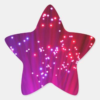 Optical Fibers Star Sticker