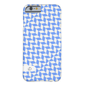 OPTICAL | geometric pattern with initials Barely There iPhone 6 Case