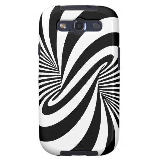 Optical Illusion 3D Spiral Samsung Galaxy SIII Cover