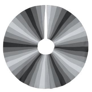 Optical Illusion Black Tree Skirt