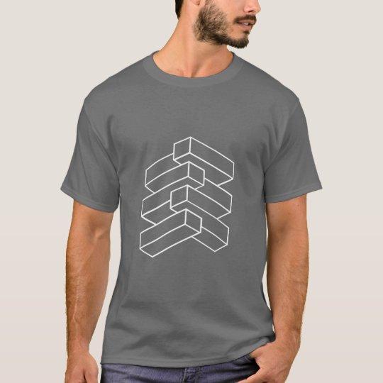 Optical Illusion - Blocks T-Shirt