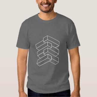 Optical Illusion - Blocks Tshirt