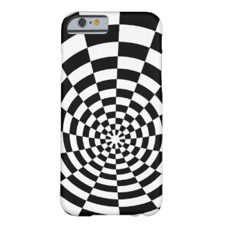 Optical Illusion checkered spatial pattern Barely There iPhone 6 Case