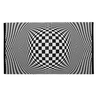 Optical Illusion Checkers iPad Folio iPad Folio Case