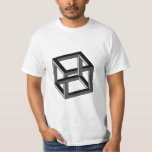 Optical Illusion - Impossible Cube Tshirts
