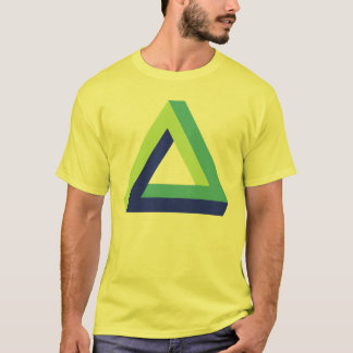 Optical illusion: penrose triangle T-Shirt