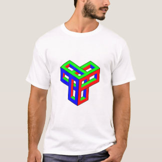 Optical Illusion RGB Blocks T-Shirt