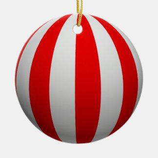 Optical Illusion Stripe Christmas Ornament