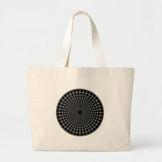 Optical-Illusion Canvas Bag