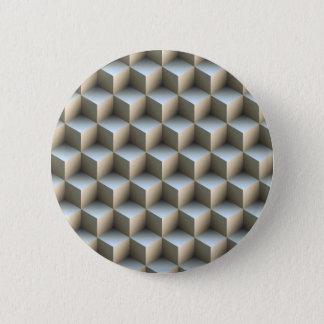 Optical illusions 6 cm round badge