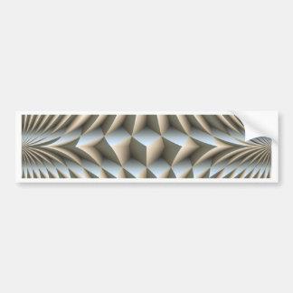 Optical illusions bumper sticker