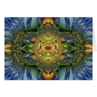 Optical illusions card
