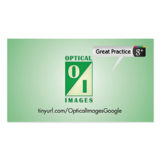 Optical Image Business Cards