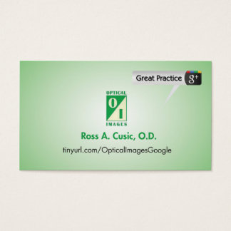Optical Images Business Card