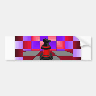 Optical Knight Chess CricketDiane 2013 Car Bumper Sticker