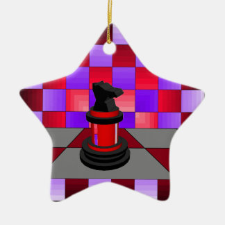 Optical Knight Chess CricketDiane 2013 Christmas Ornament
