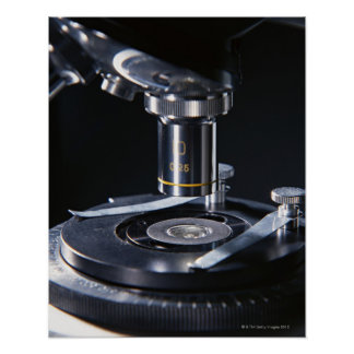 Optical Microscope Poster