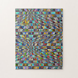 Optical Mosaic Abstract Puzzle