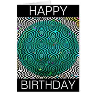 Optical Seaworld Birthday Card