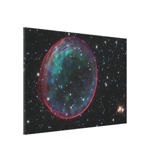 Optical:X-ray Composite Image of Supernova Remnant Canvas Print