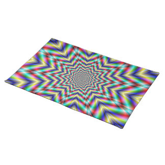 Optically Challenging Star Placemats