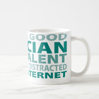 Optician 3% Talent Basic White Mug