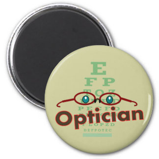 Optician--Eye chart Gifts Refrigerator Magnet