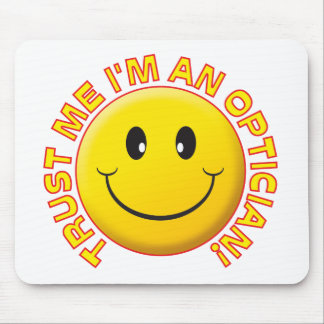 Optician Trust Me Mouse Mat