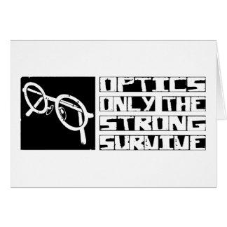 Optics Survive Card