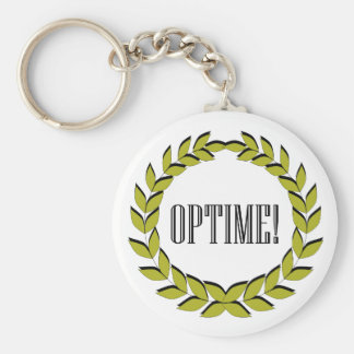 Optime! Excellent job! Basic Round Button Key Ring