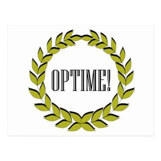Optime! Excellent job! Postcard
